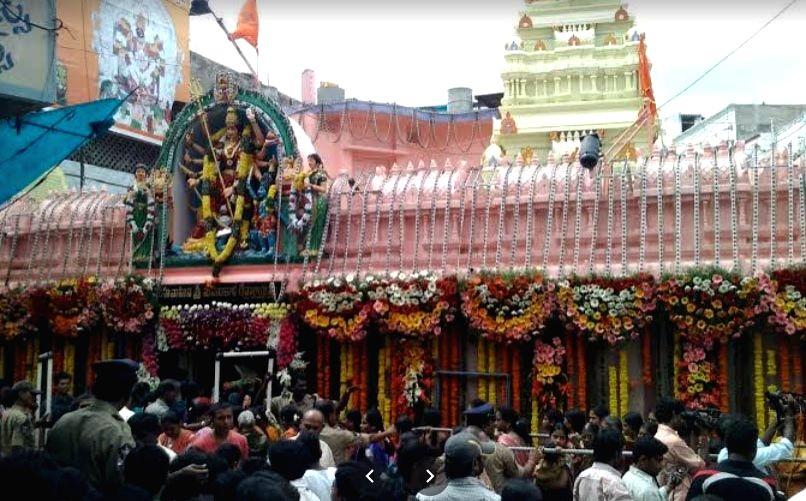 Ujjaini Mahankali temple.