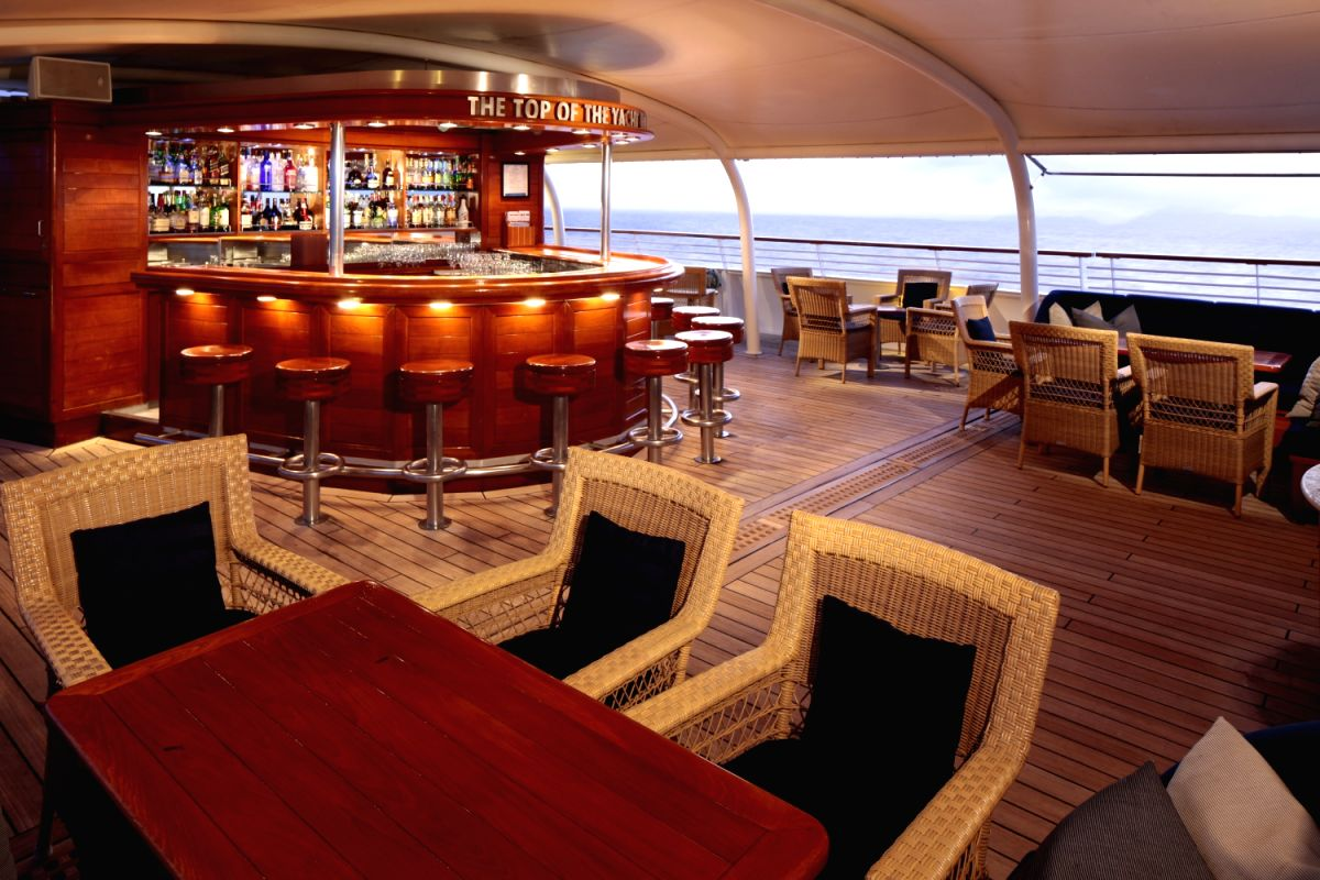 The Premium luxury Yacht plies in the Indian Ocean since 2013.