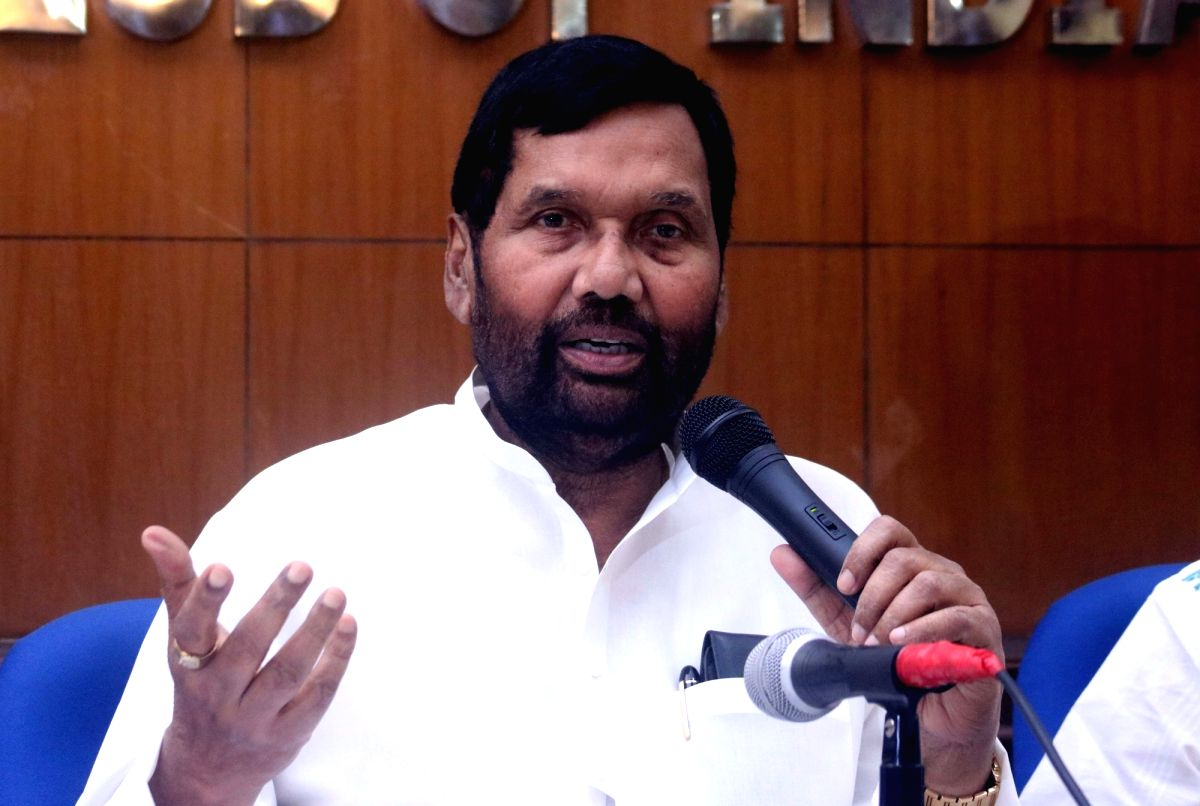 Union Consumer Affairs Minister Ram Vilas Paswan. (File Photo)