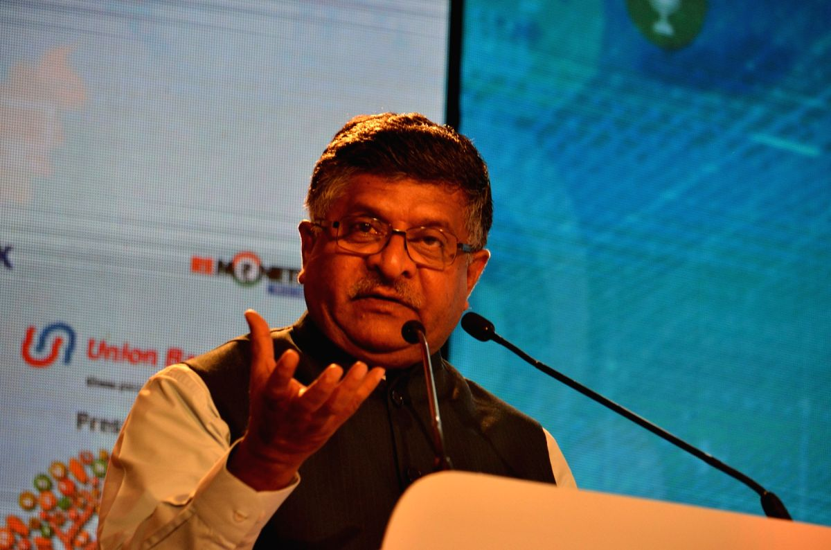 Union Electronics and Information Technology Minister Ravi Shankar Prasad. (File Photo: IANS)