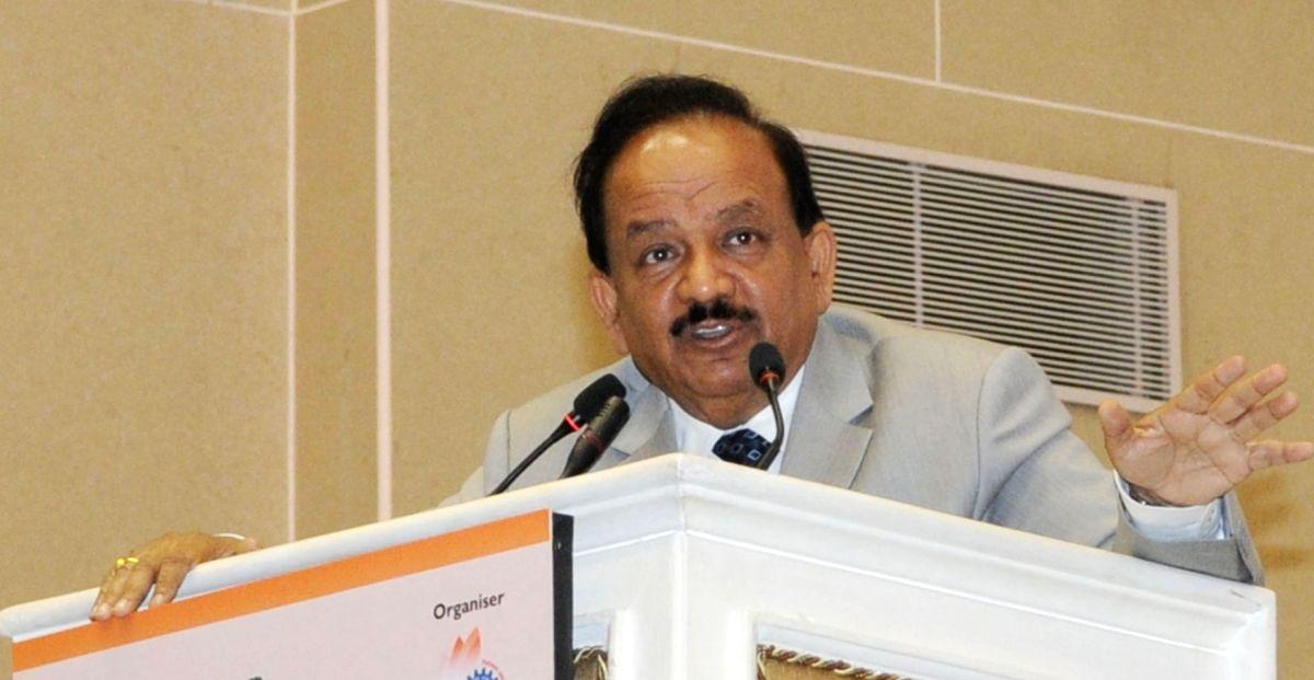 Union Minister Dr. Harsh Vardhan.
