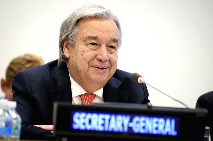 United Nations Secretary-General Antonio Guterres. (Photo credit: UN/via IANS)