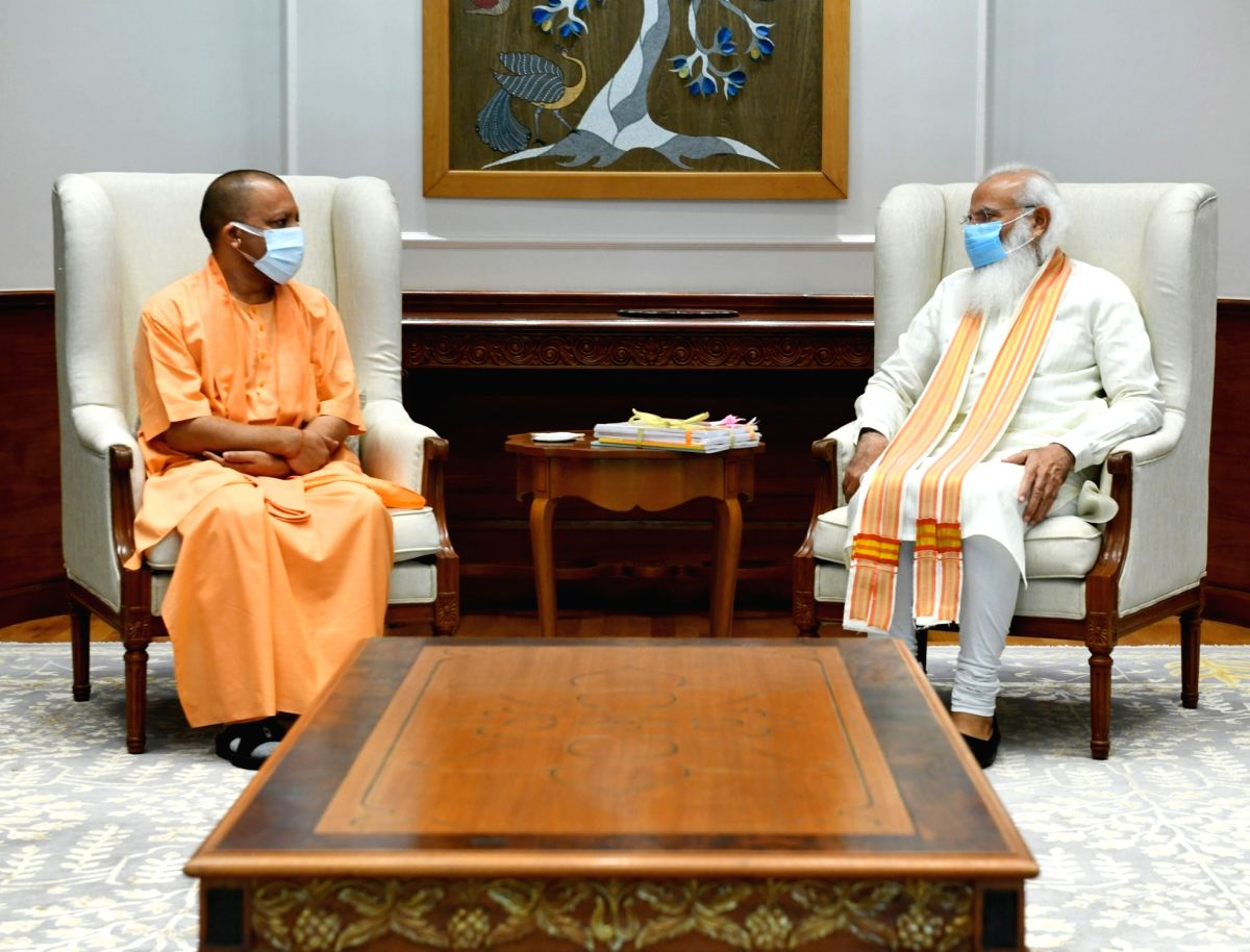 UP politics in flux: Yogi meets PM, Nadda with eye on 2022 polls