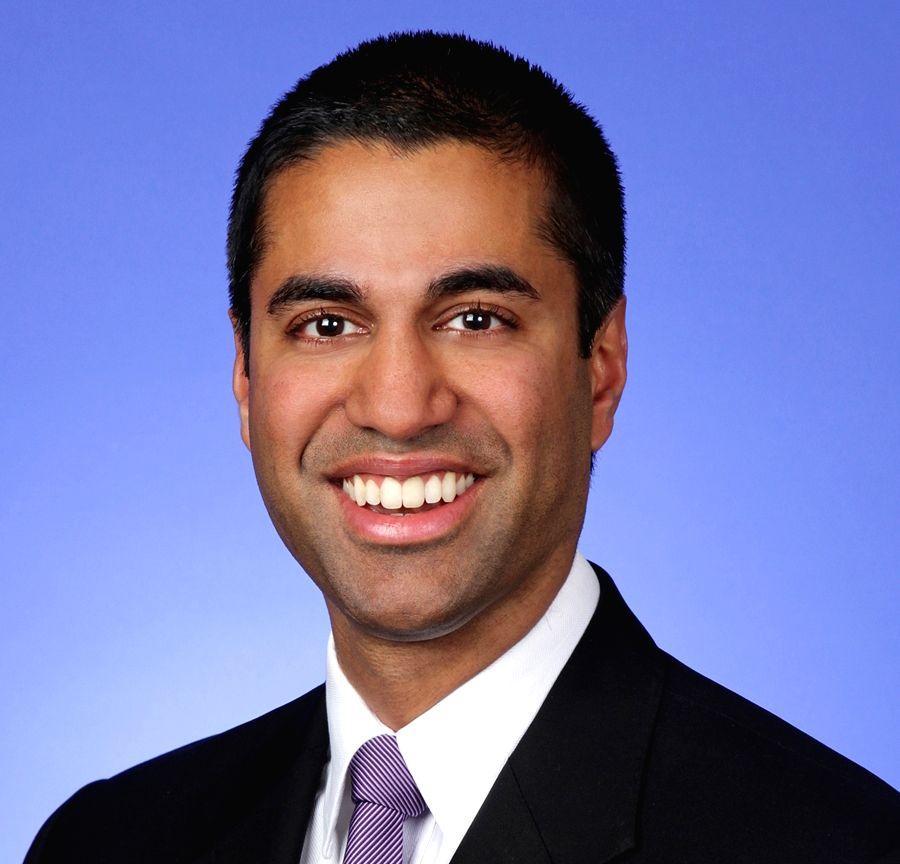US Federal Communications Commission Chairman Ajit Pai.