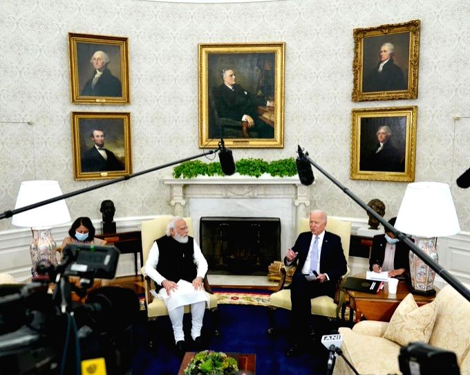 US media riled by Biden comments criticising it during Modi meeting