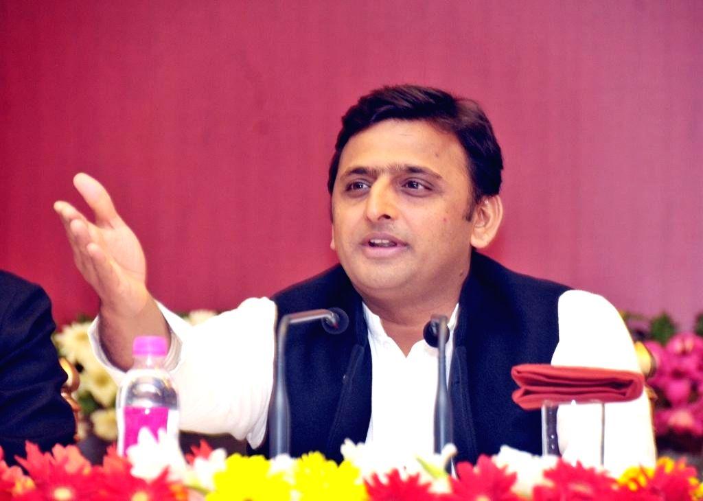Uttar Pradesh Chief Minister Akhilesh Yadav. (File Photo: IANS)
