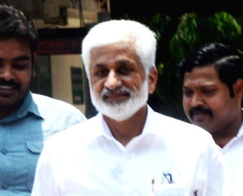 V. Vijayasai Reddy. (File Photo: IANS)