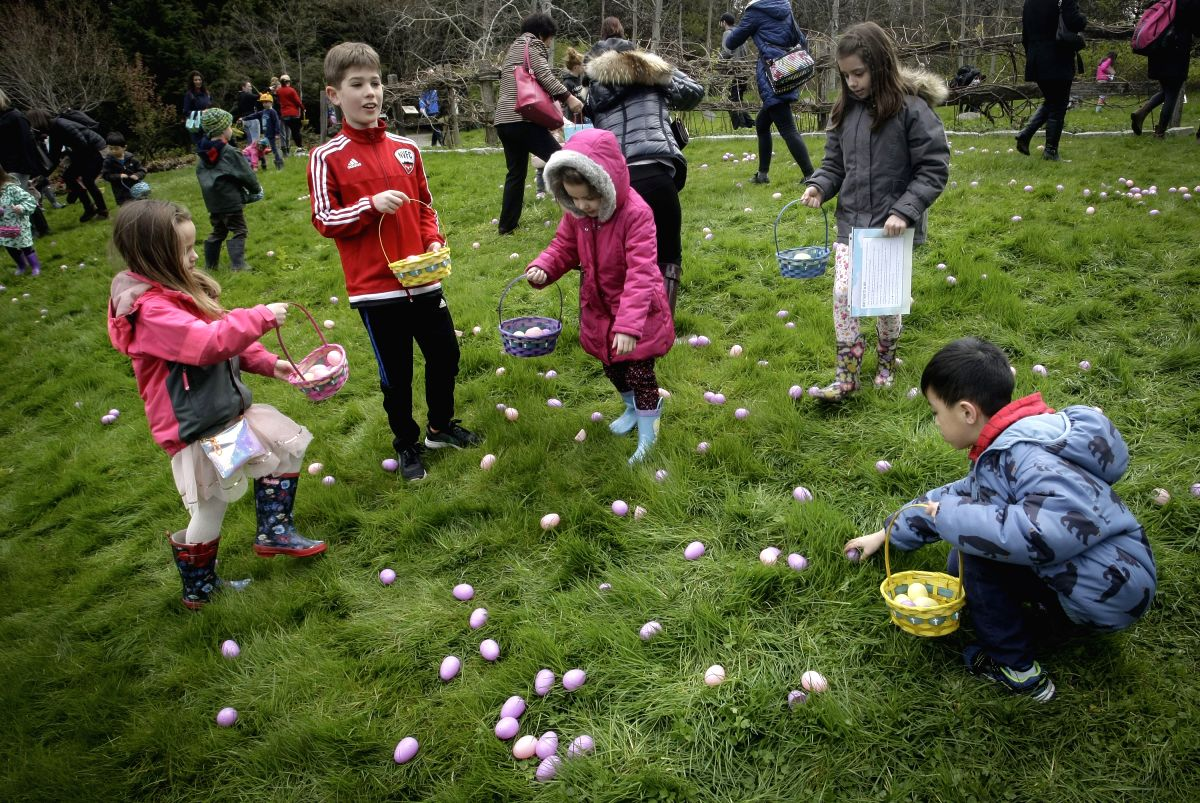 Easter egg hunt is on!