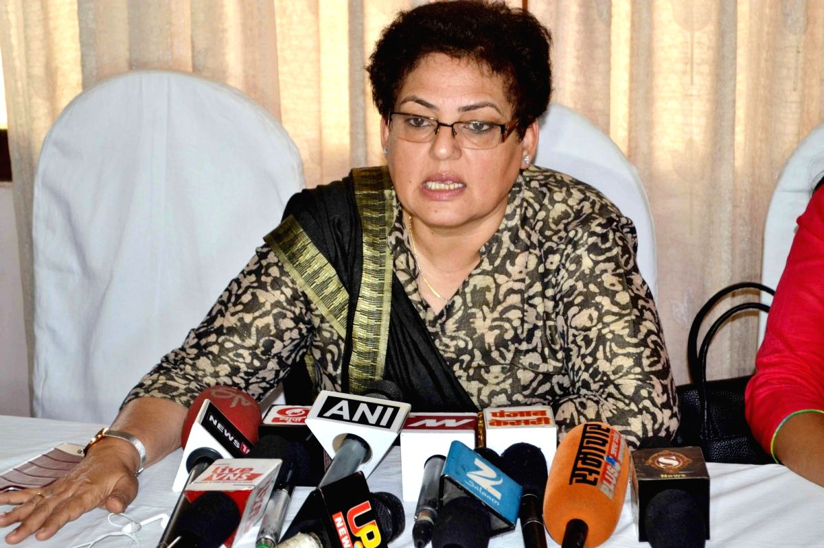 Acting chairperson of NCW Rekha Sharma