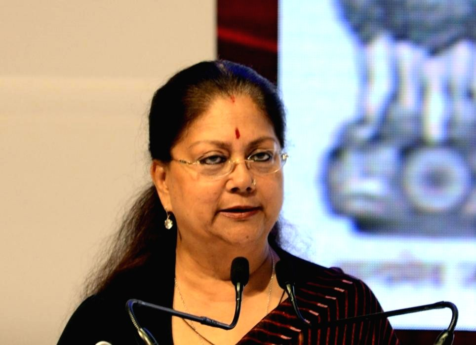 Vasundhara Raje. (File Photo: IANS)