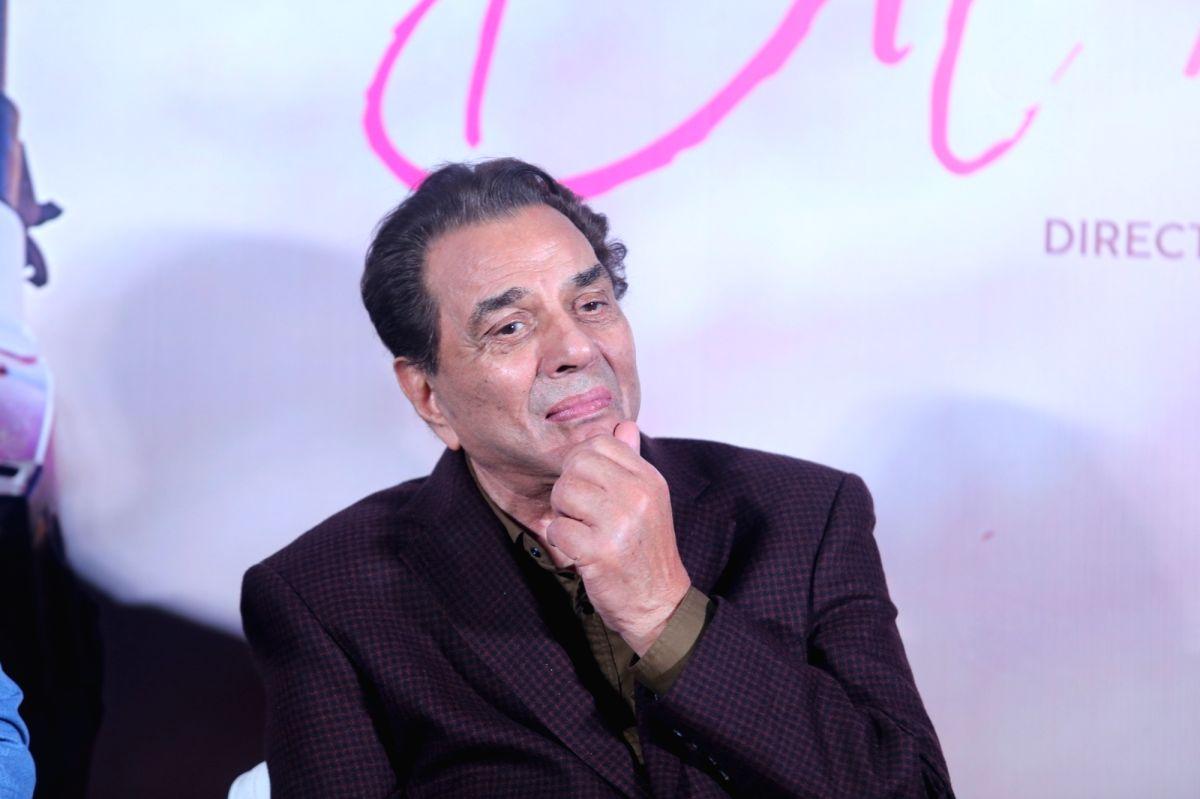 Veteran actor Dharmendra.