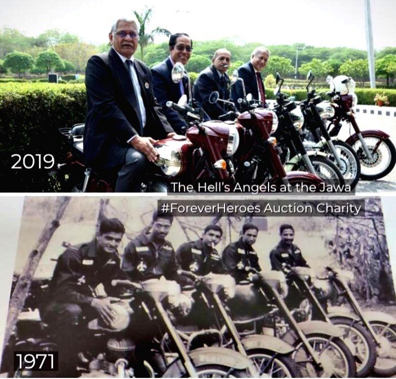 Veteran IAF pilots relive 1971 photo, image goes viral