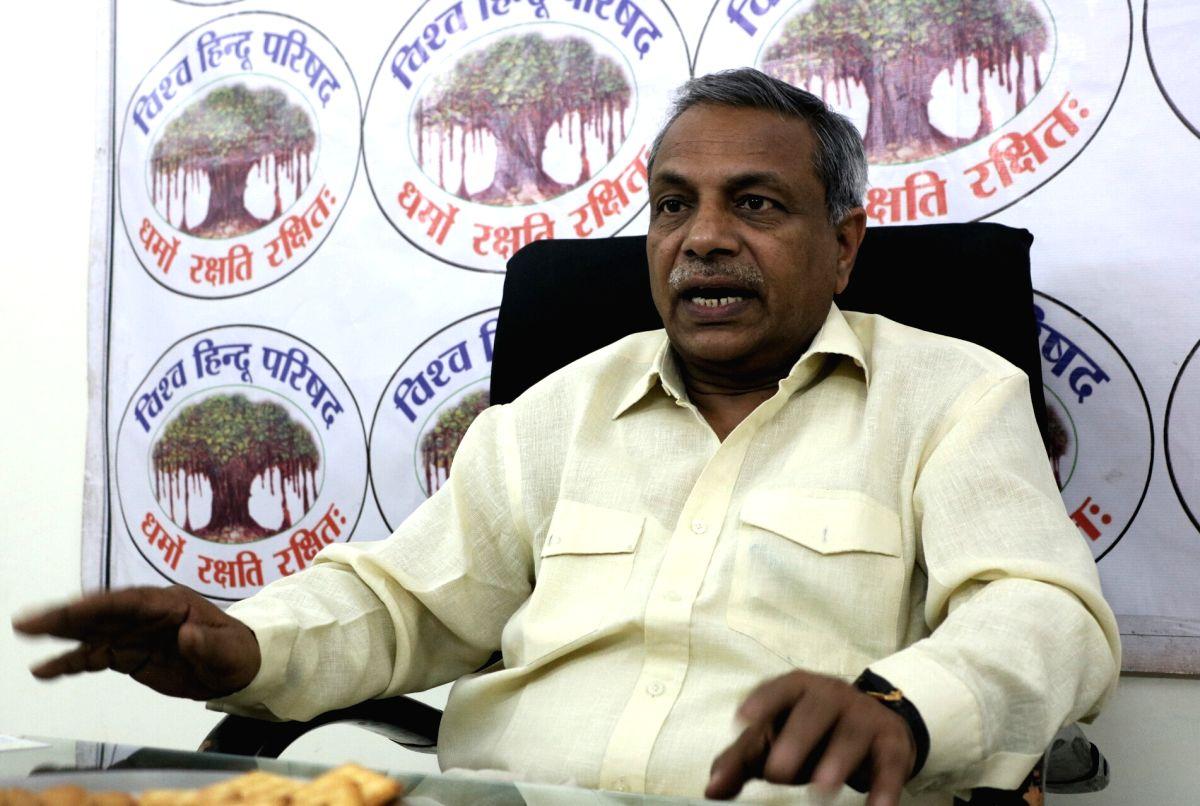 VHP leader Surendra Jain. (File Photo: IANS)
