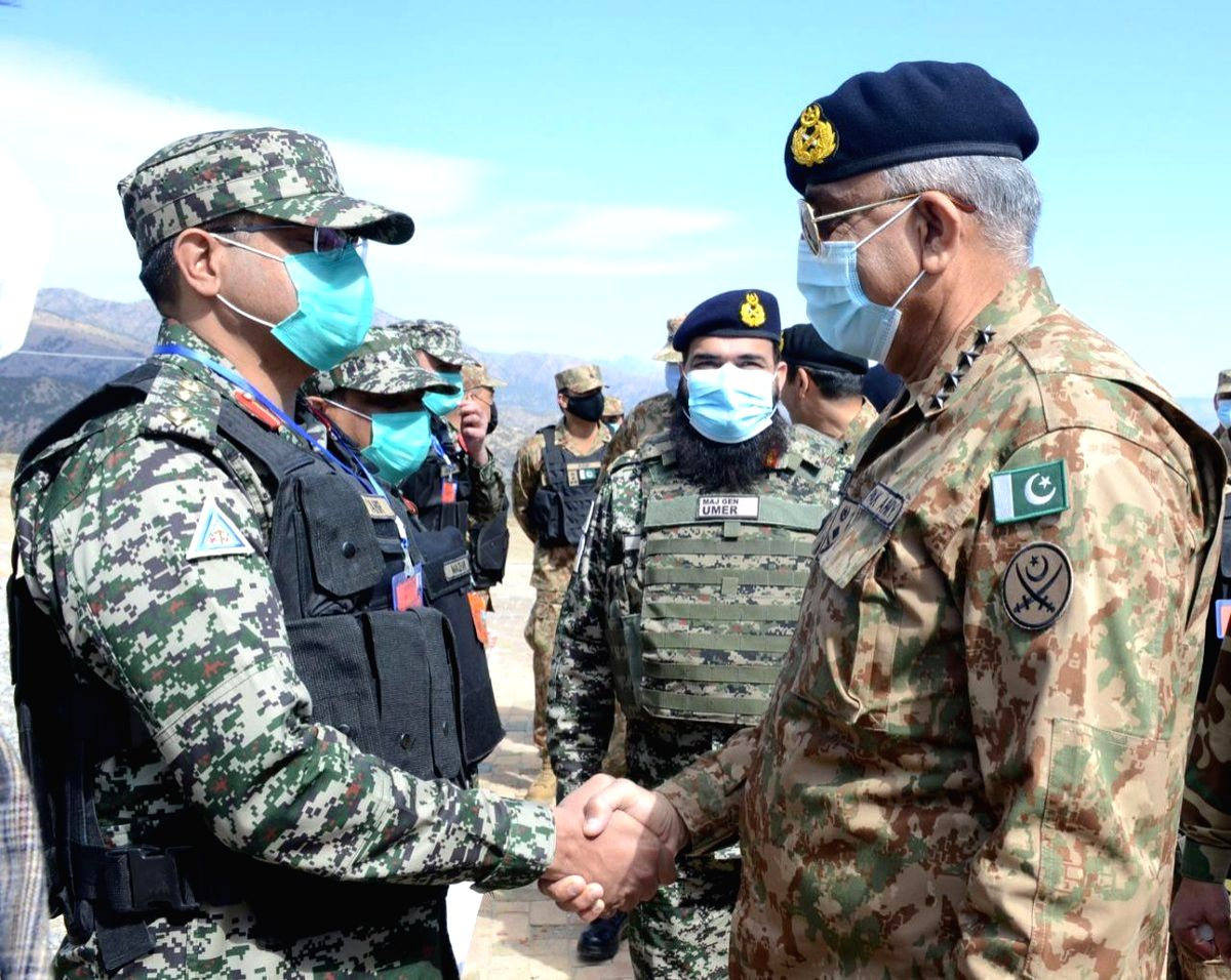 Vigilance pivotal to thwart hostile attempts to create chaos: Pak Army Chief.