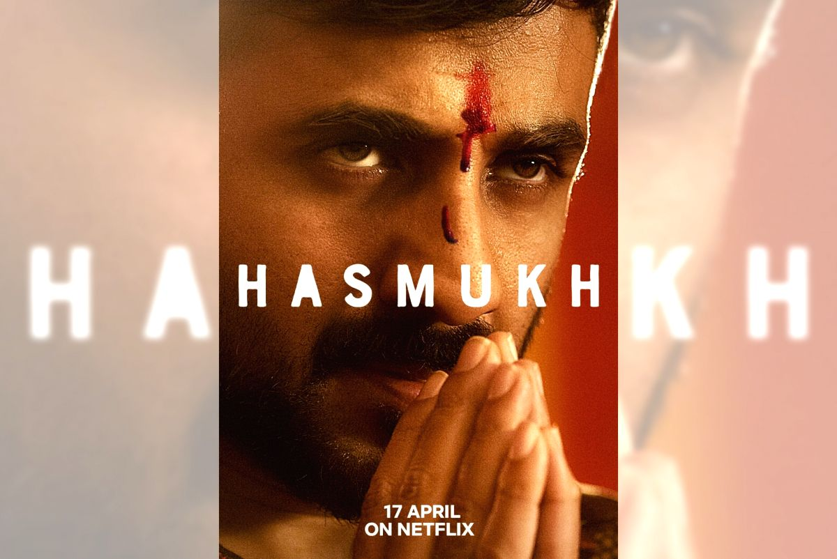 "Vir Das + Netflix's upcoming series ""Hasmukh""."
