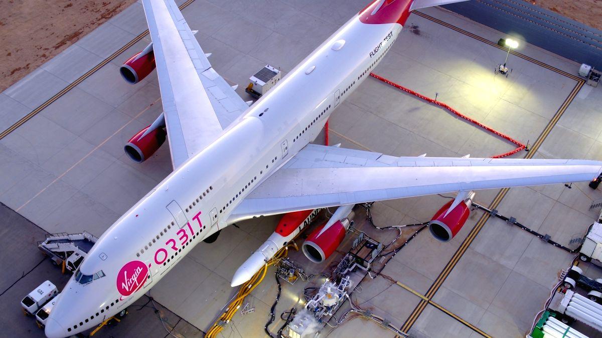 Virgin Orbit's rocket deploys 10 NASA payloads via air launch.