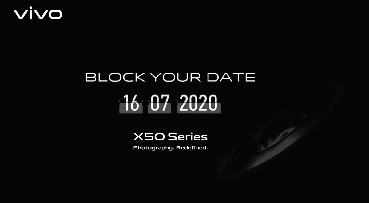 Vivo X50 series to launch in India on July 16.