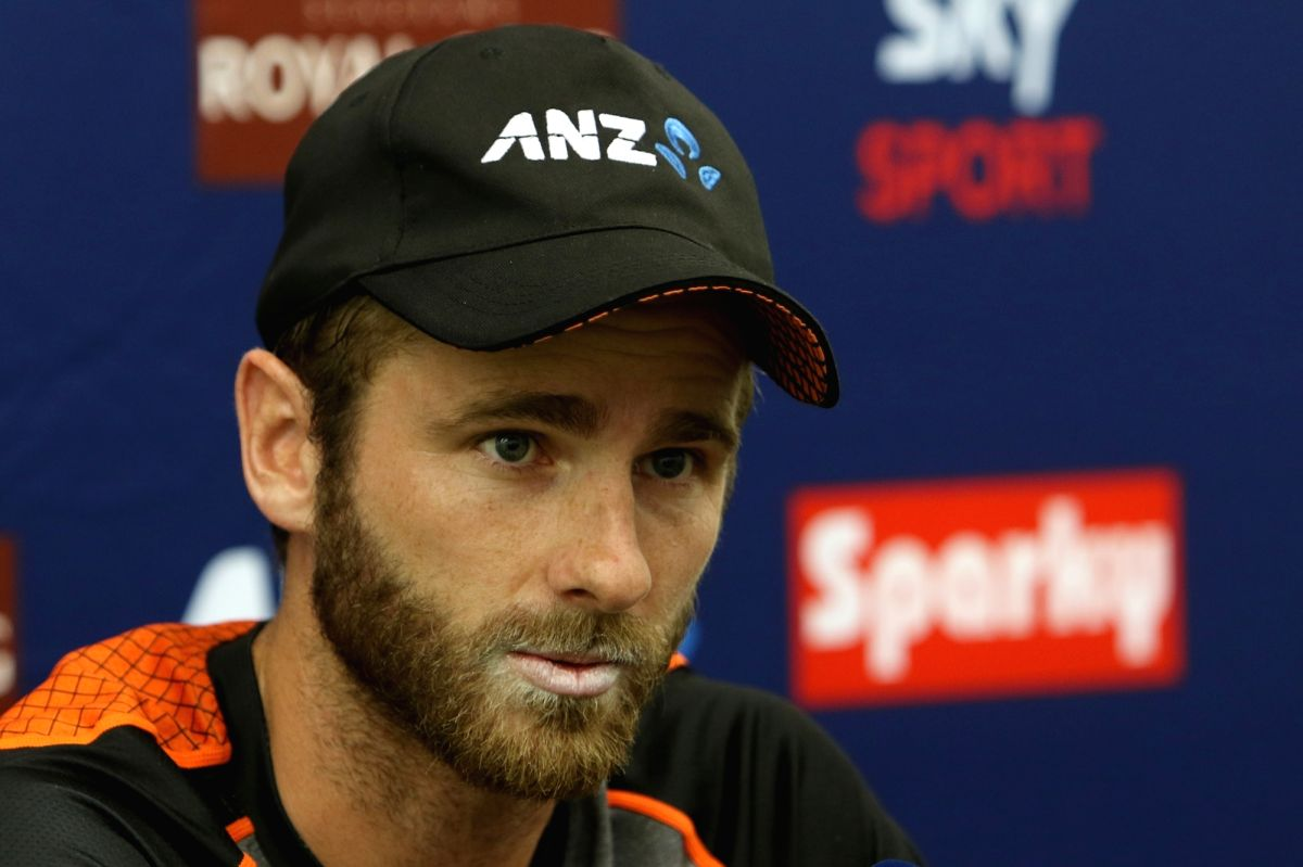 Wellington: New Zealand player Kane Williamson during a press conference ahead of the first Test against New Zealand at Basin Reserve cricket stadium in Wellington, New Zealand on Feb. 20, 2020. (Photo: Surjeet Yadav/IANS)