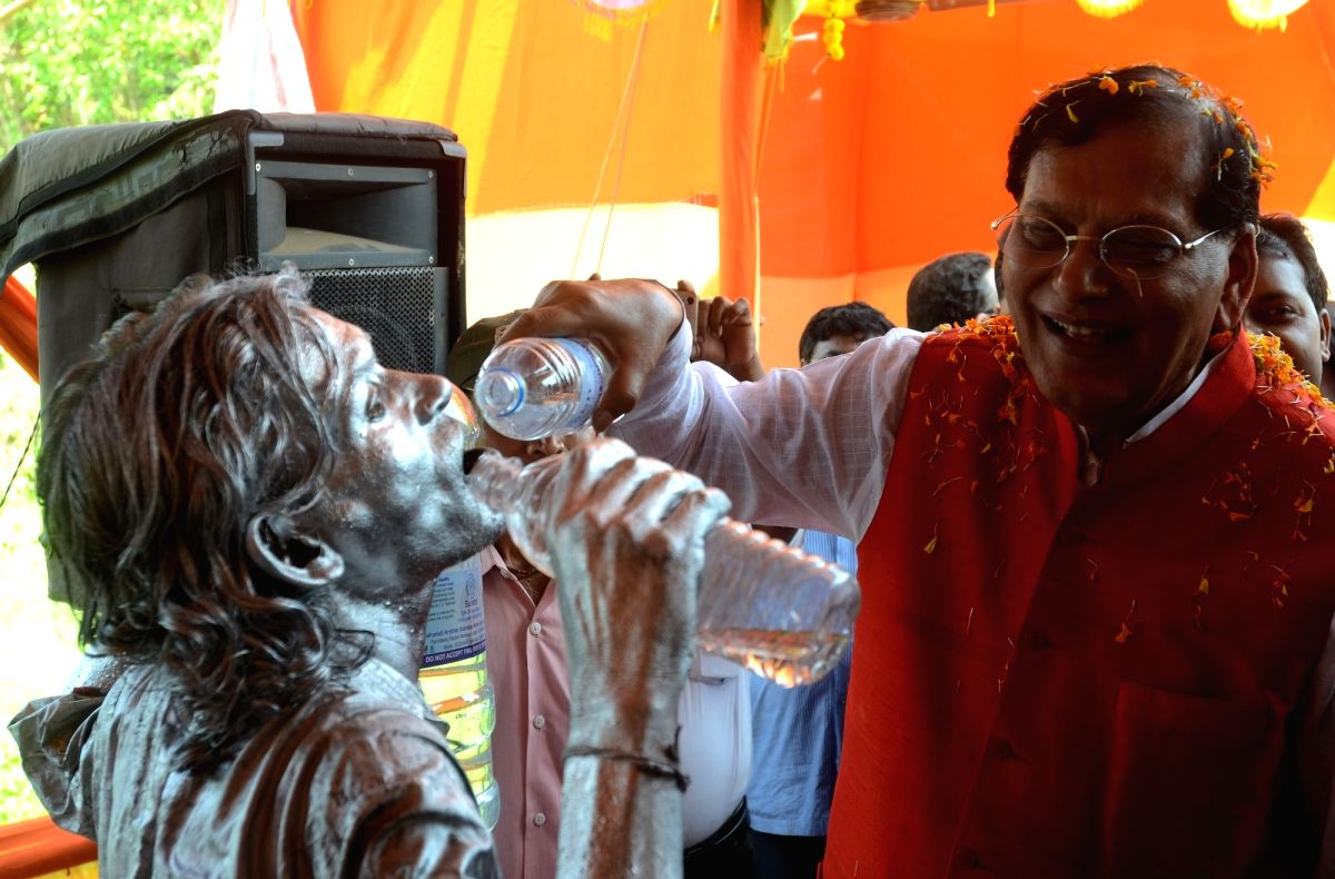 West Midnapore: Sulabh inaugurates drinking water project in WB - Bindeshwar Pathak