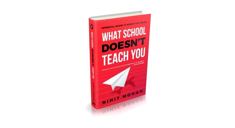 'What school doesn't teach you' in a debut book(Photo:IANSlife)