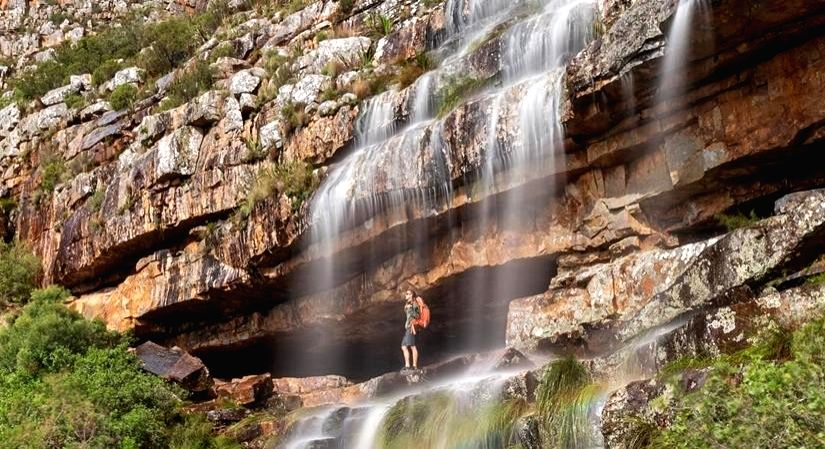 Winter hikes with waterfalls in Cape Town