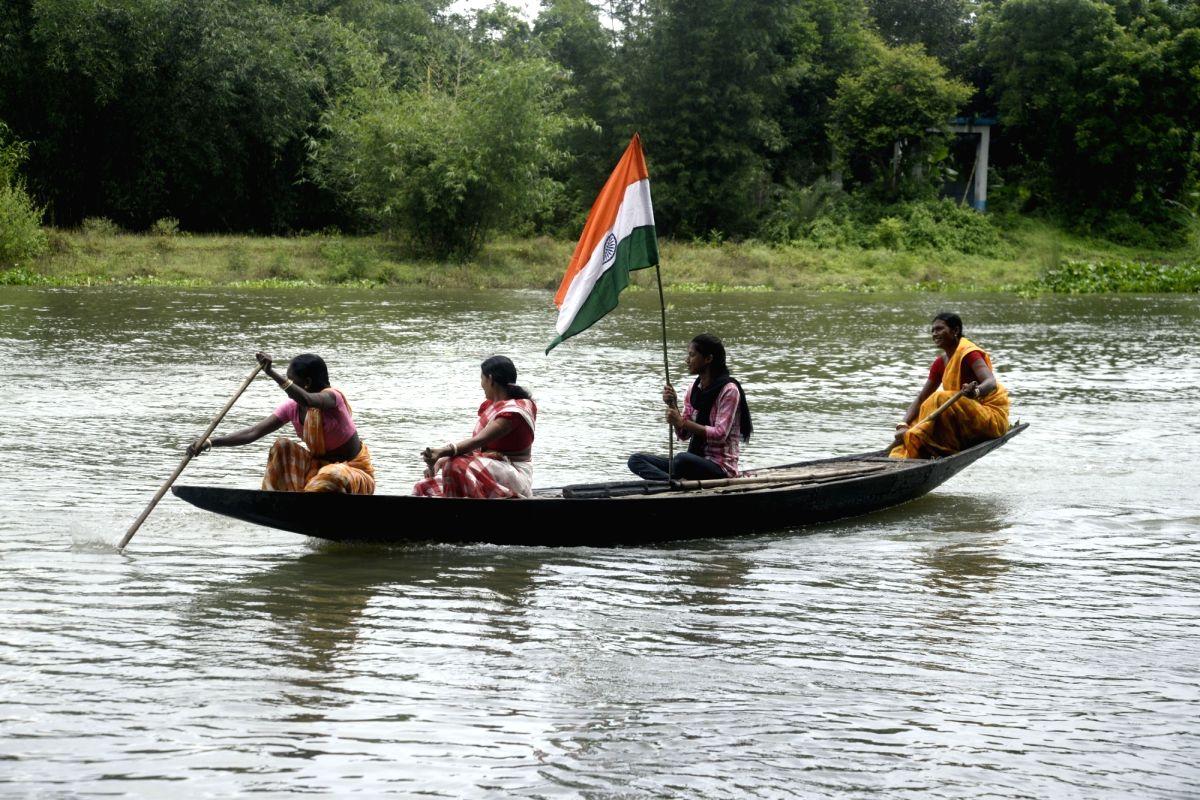 Shibnibas village celebrates its Independence Day
