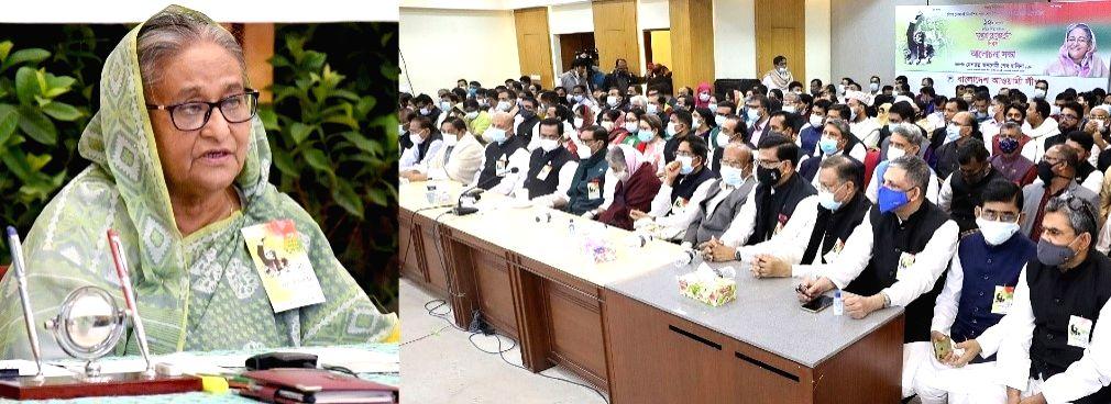 Working on building B'desh of Bangabandhu's dreams: Sheikh Hasina