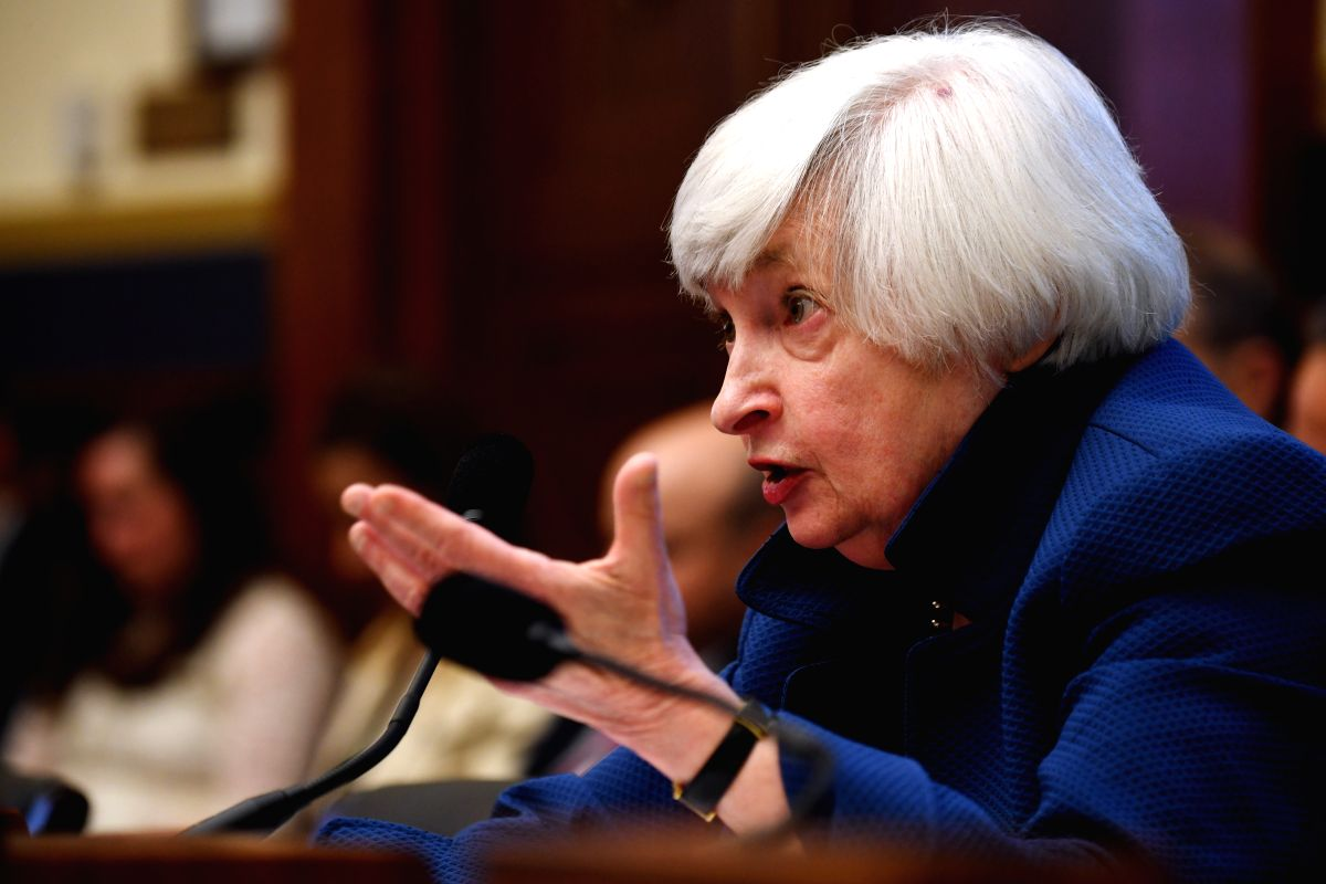 Yellen vows to tackle climate change