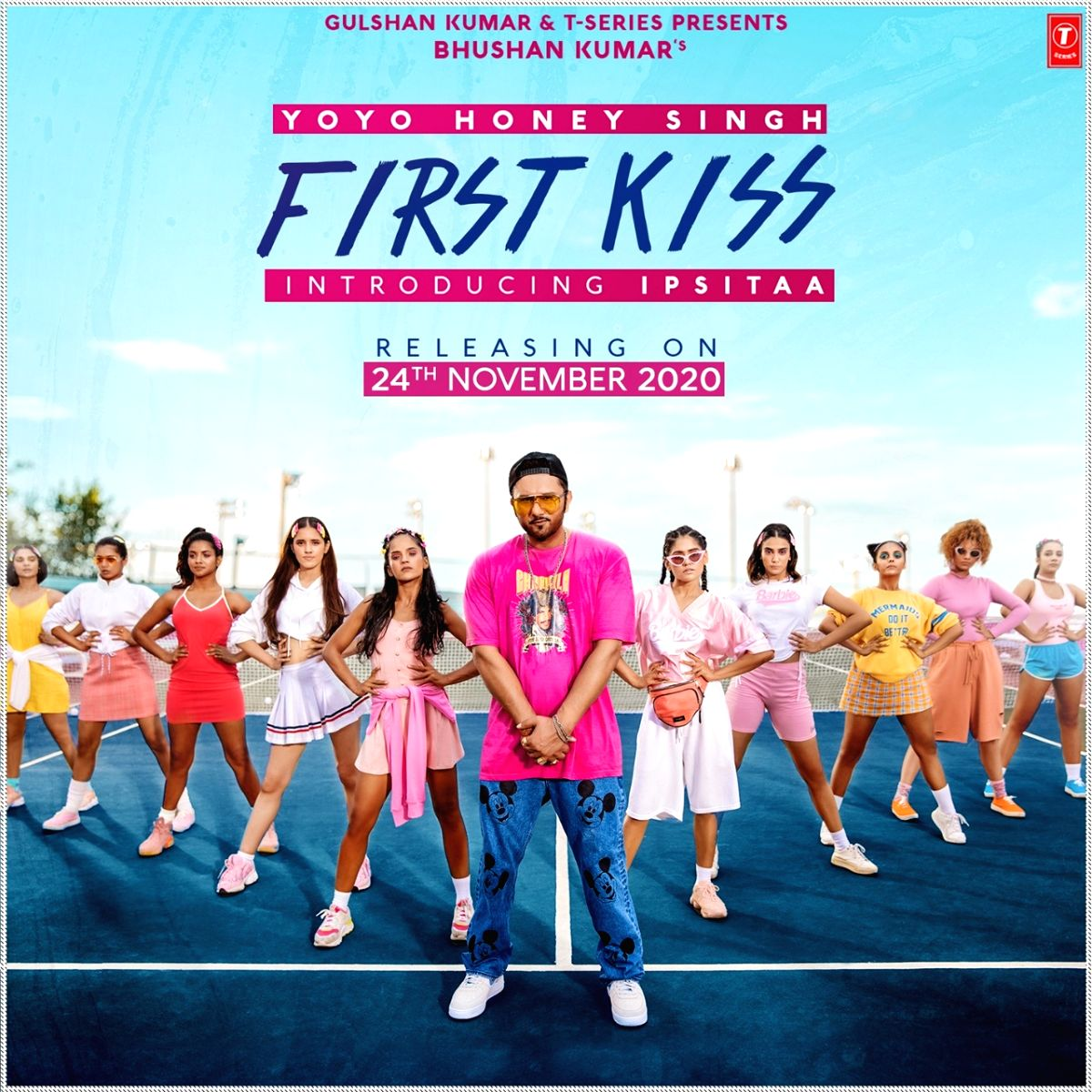 Yo Yo Honey Singh launches singer Ipsitaa in 'First kiss'.