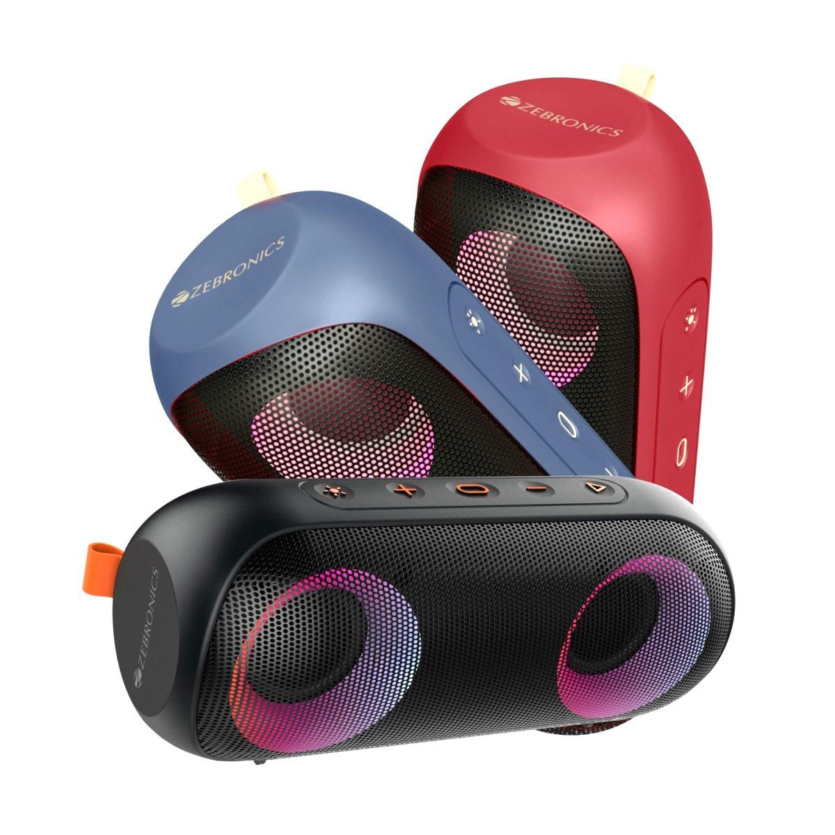Zebronics launches powerful speaker Zeb-Music Bomb X with IPX7 rating