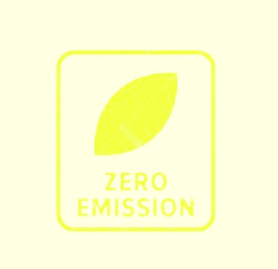 zero emissions.
