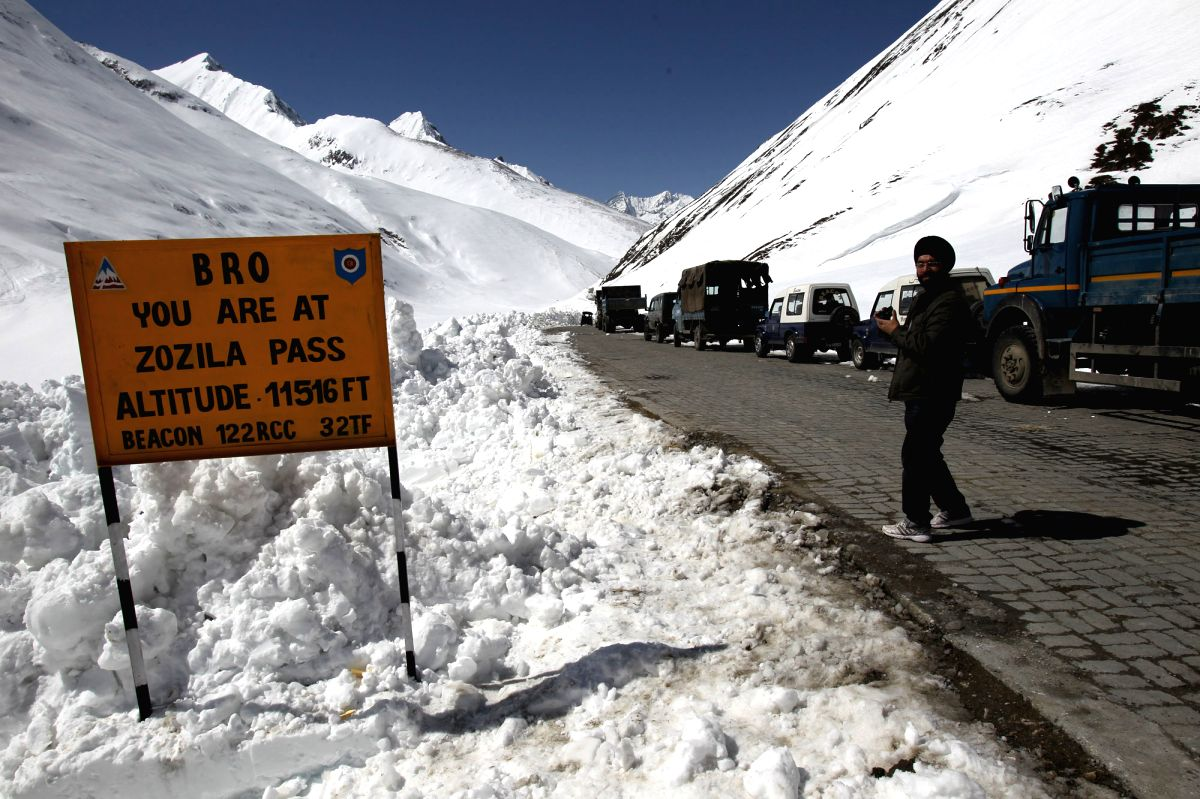 Zojila Pass on National Highway 1D, known as Ladakh`s lifeline as it connects the region to the rest of country, reopened for vehicular traffic on April 6. The pass, which shuts down for about six with the onset of winter, opened 20 days earlier this
