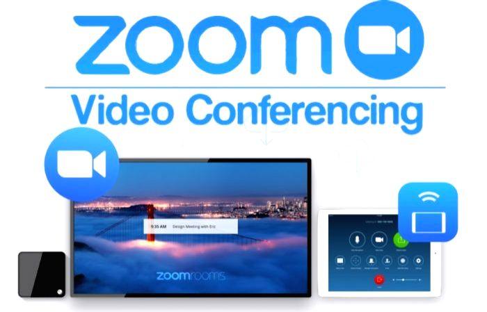Zoom app.