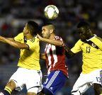 URUGUAY-MONTEVIDEO-SOCCER-PARAGUAY VS COLOMBIA