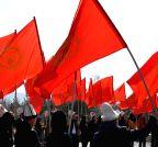 KYRGYZSTAN-BISHKEK-NATIONAL FLAG DAY