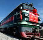 CHINA-LANZHOU-KAZAKHSTAN-FREIGHT TRAIN SERVICE-LAUNCHING