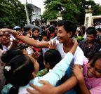 MYANMAR-YANGON-PRISONER-AMNESTY