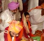 Shahid Kapoor and Mira Rajput at their wedding