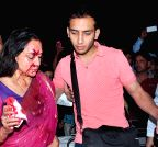 Injured Hema Malini being taken to hospital