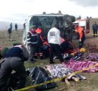 Afyonkarahisar: Bus accident site