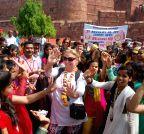 Agra: World Heritage Day celebratation