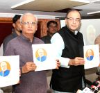 Ahmedabad: Arun Jaitley releasing a book