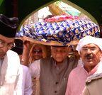 Ajmer: VK Singh visits Ajmer Sharif