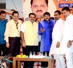 Amritsar: Manoj Tiwari during a BJP programme