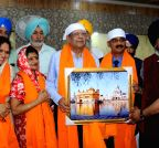 Amritsar: Rajkeswur Purryag  pays obeisance at the Golden Temple