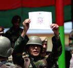 AFGHANISTAN-KABUL-ARMY COMMANDO-GRADUATION
