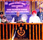 Angrail: Rajnath Singh at the Sainik Sammelan of Border Security Force