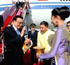 Chinese Premier Li Keqiang arrival in Bangkok