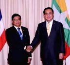 THAILAND-BANGKOK-MYANMAR-VISIT