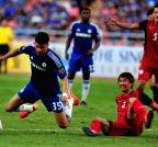 THAILAND-BANGKOK-FOOTBALL-FRIENDLY MATCH